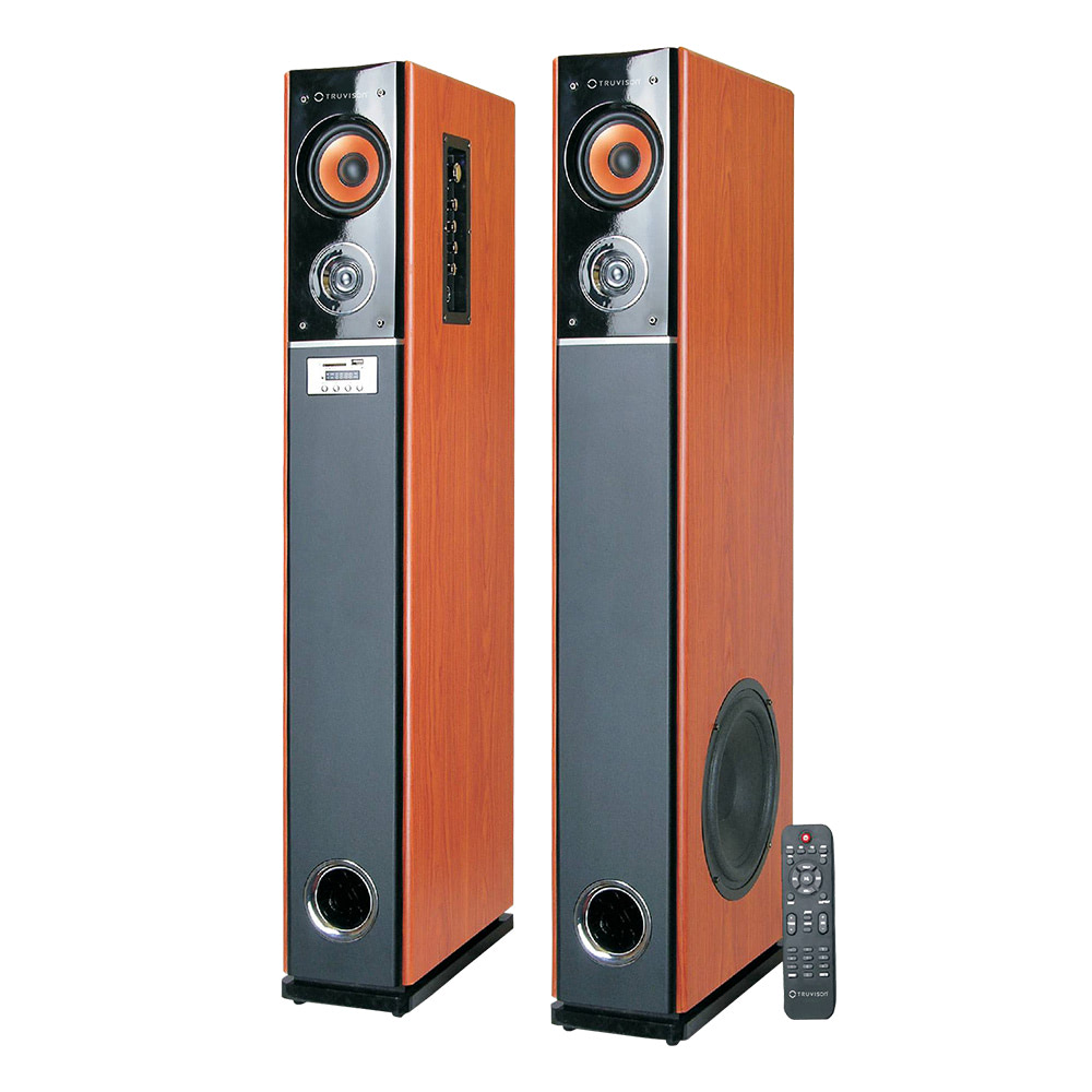 TV-333 BT 2.0 Multimedia Tower Speaker - Buy Bluetooth Tower Speaker Online at Best Price   Truvison. Available at ₹17990