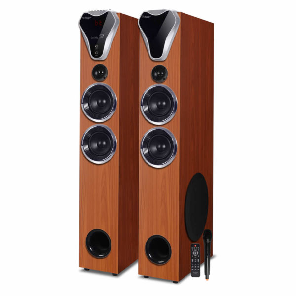 TV-555 BT 2.0 Multimedia Tower Speaker - Buy Bluetooth Tower Speaker Online at Best Price   Truvison. Available at ₹18999